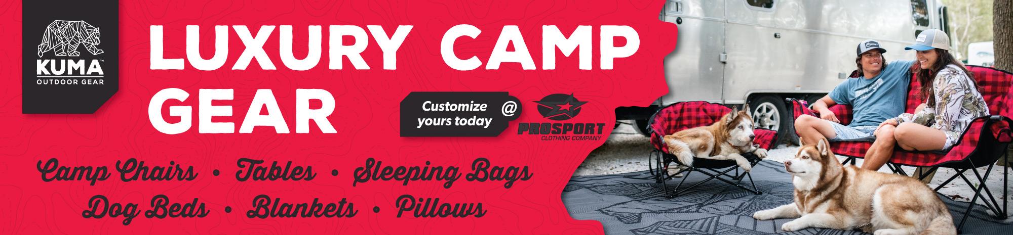 Kuma Luxury Camp Gear