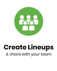 TeamLinkt - Create Lineups